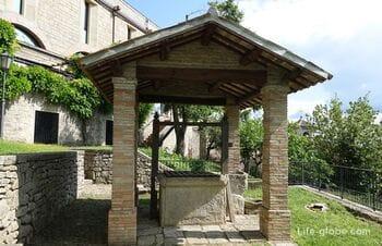 Древний монастырь Святой Кьяры в Сан-Марино - сад, музей эмигрантов, университет