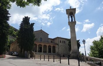 Церковь Сан-Квирино, Сан-Марино (монастырь отцов капуцинов / Chiesa di San Quirino)