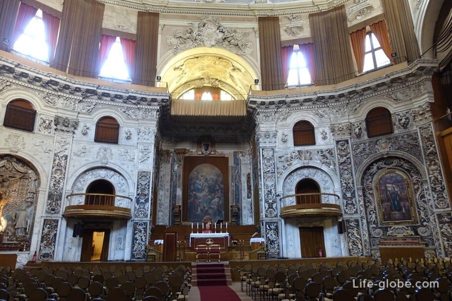 Церковь Святейшего Спасителя в Палермо