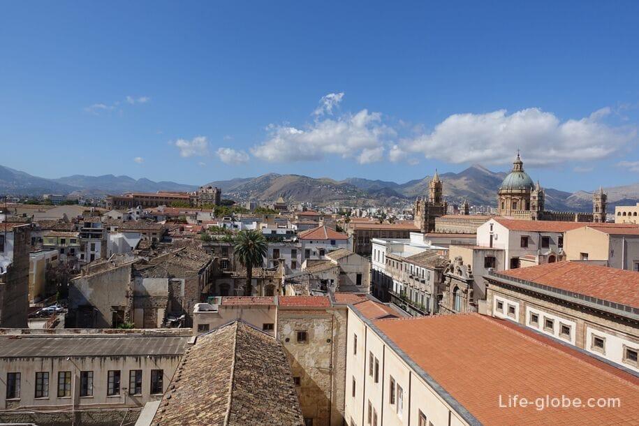 Вид на Палермо, Сицилия