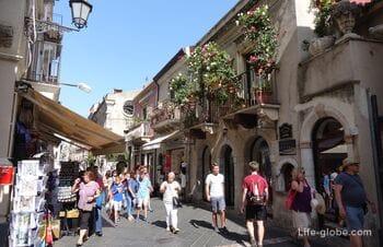 Taormina, Sicily - the luxury of the Ionian coast