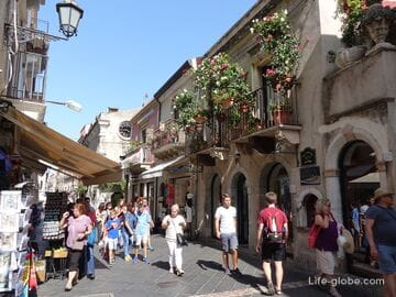 Taormina, Sicily - the luxury of the Ionian coast