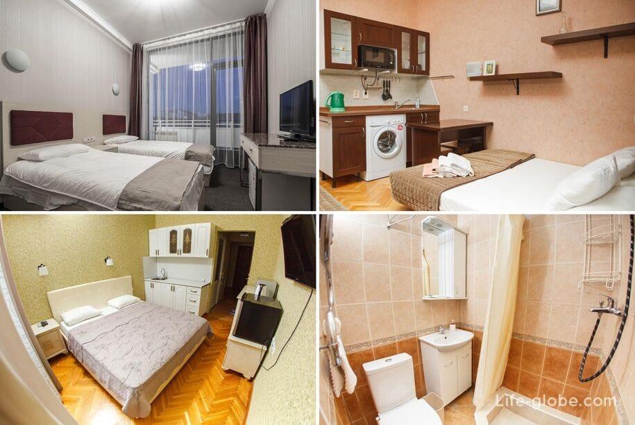 Лучшие отели Сочи - Отель Мира, Сочи