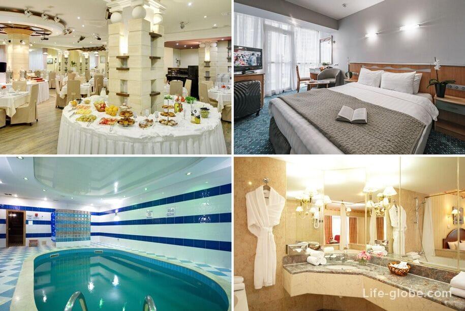 Лучшие отели Сочи - Маринс Парк Отель, Сочи