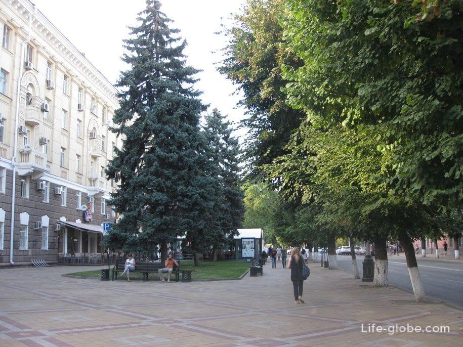 Улица Красная - главная улица Краснодара