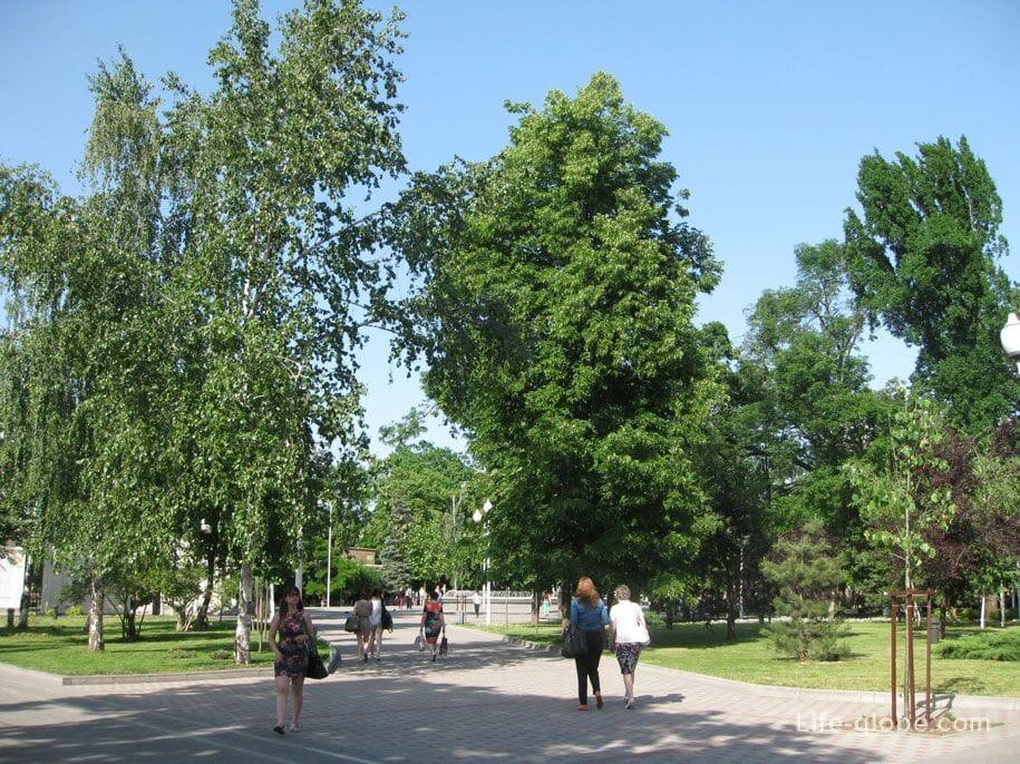Скверу имени Жукова, Краснодар