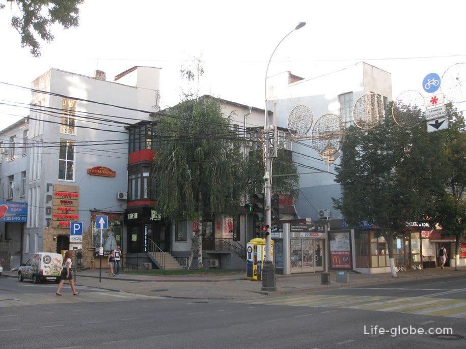 Прогулочная улица Краснодара - Красная