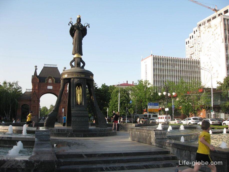 Памятник Святой Великомученицы Екатерины, Краснодар