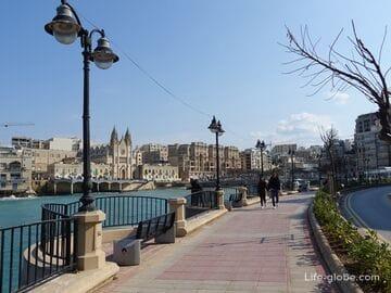 Залив Баллута, Сент-Джулианс, Мальта (Balluta Bay)