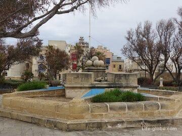 Сады Гарджола, Сенглеа, Мальта (Гордола / Gardjola Garden)