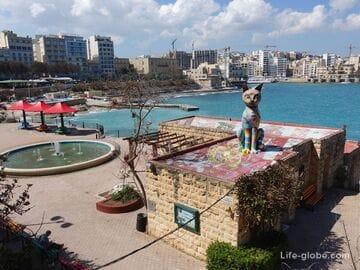 Сады Независимости, Слима, Мальта (Independence gardens)