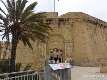 Бастион Святого Иоанна, Биргу, Мальта (St. John's bastion)