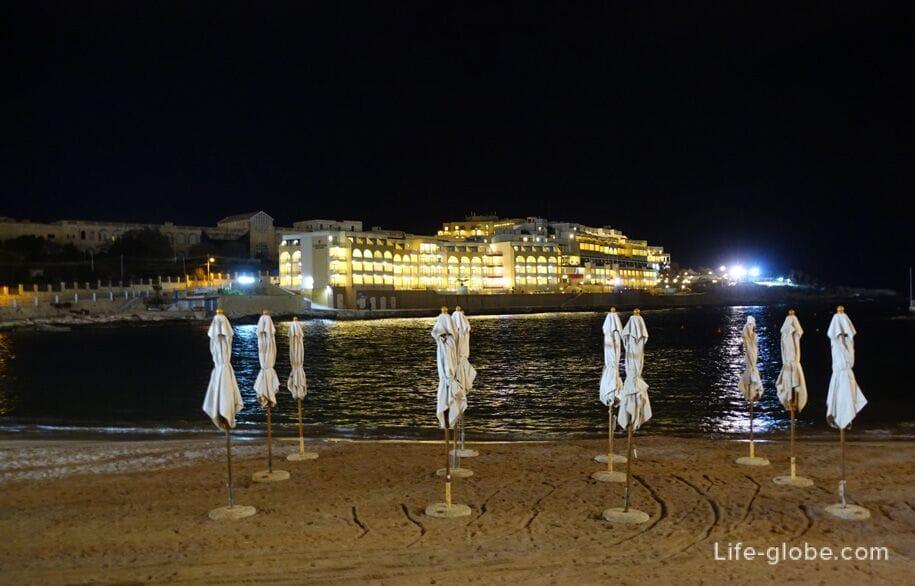 Paceville, St  Julian's - the night capital of Malta