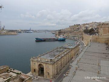 Побережье Валлетты, Мальта (пляжи Валлетты)