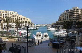 Portomaso Marina, St. Julian's -  most elite complex of Malta