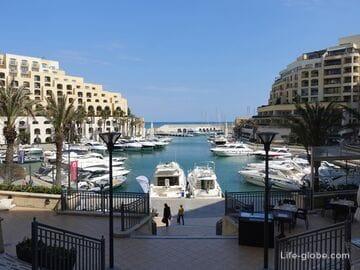 Портомасо Марина, Сент-Джулианс (Portomaso Marina) - самый элитный комплекс Мальты