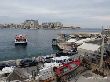 Валлетта-Слима, Мальта (паромы, автобусы, такси, авто)