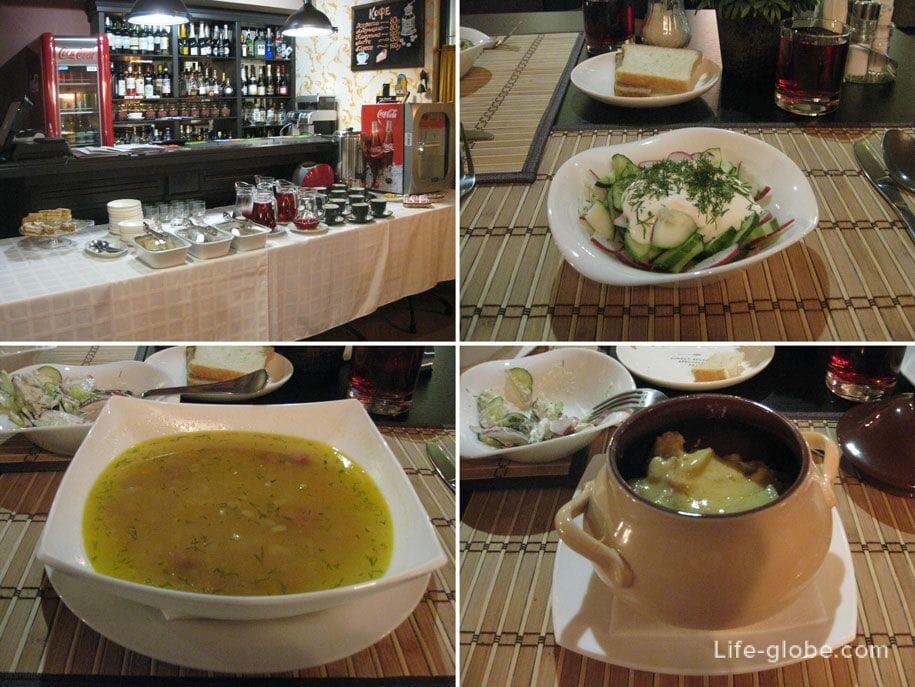 Обед, Премьер отель в Смоленске