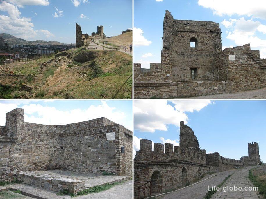 Достопримечательности Крыма - Судакская/Генуэзская крепость