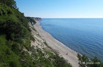 Донское, Калининградская область - лучшие панорамные виды моря и пляжа в области