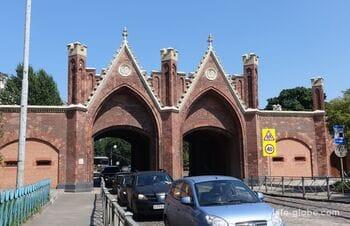 Brandenburg gate, Kaliningrad (Brandenburger Tor)