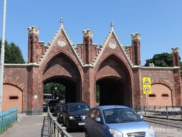 Бранденбургские ворота, Калининград (Brandenburger Tor)