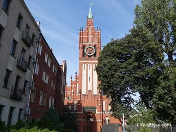 Кирха Святого семейства в Калининграде (филармония им. Е.Ф. Светланова)