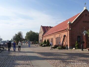 Набережная Петра Великого, Калининград (набережная Исторического флота - старый порт)