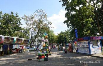 Колесо обозрения в Калининграде (парк Юность)
