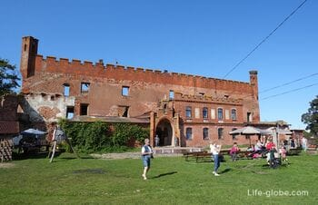 Замок Шаакен, Калининградская область (Schaaken) - музейно-исторический комплекс
