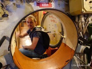 Подводная лодка «Б-413», Калининград (музей Мирового океана)