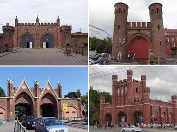 Городские ворота Калининграда (Кёнигсберга)