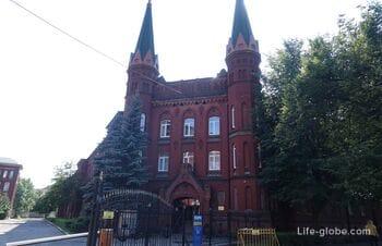Здание госпиталя святого Георга в Калининграде