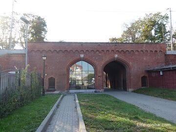 Железнодорожные ворота, Калининград (Eisenbahnhof Tor)