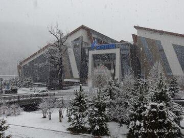Развлекательный центр Галактика, ГТЦ Газпром, Красная Поляна (Эсто-Садок): аквапарк, каток, боулинг, кинотеатр, торговая галерея и тд