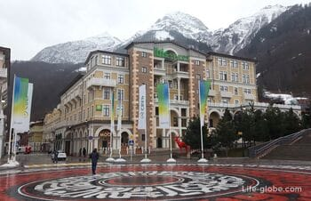 Где остановиться на курорте Красная Поляна (отели, апартаменты)