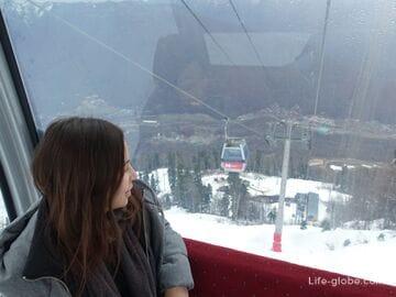 Горный курорт Красная Поляна зимой: отдых, развлечения, чем заняться