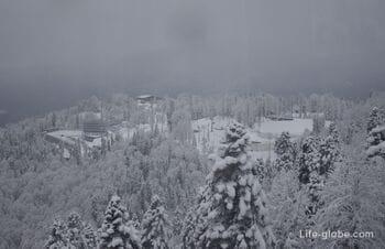 Лыжно-биатлонный комплекс Лаура ГТЦ Газпром, Красная Поляна (Эсто-Садок)