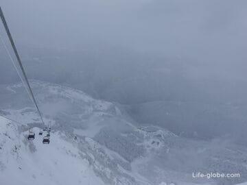 Маршрут «Путь к вершинам» - подъем на Роза Пик, Роза Хутор: по прогулочным билетам и ски-пассам