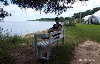 Hotel Altrimo, Curonian Spit - a secluded vacation on the shores of the Curonian Lagoon (Rybachy village)