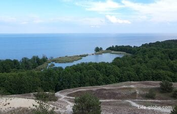 Lake Swan, Curonian Spit - most picturesque lake on the spit