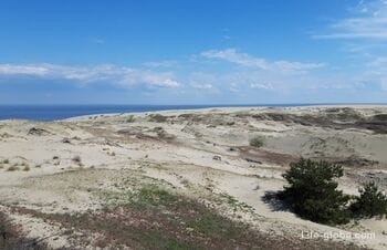Sights of the Curonian Spit, Kaliningrad region. What to see, where to go on the spit
