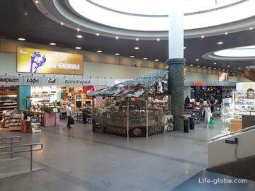 Где переночевать в аэропорту Пулково Петербурга. Чем заняться между рейсами
