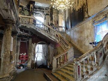Анненкирхе в Санкт-Петербурге (церковь святой Анны) - интерьер после пожара