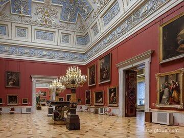 Государственный Эрмитаж, Санкт-Петербург - полное описание с экспозициями, фото, адресами и сайтом