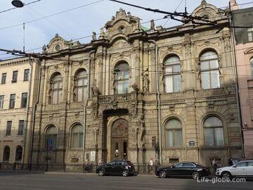 Дворец Зинаиды Юсуповой в Санкт-Петербурге на Литейном проспекте