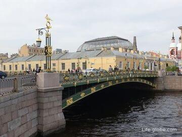 Пантелеймоновский мост в Санкт-Петербурге, через Фонтанку