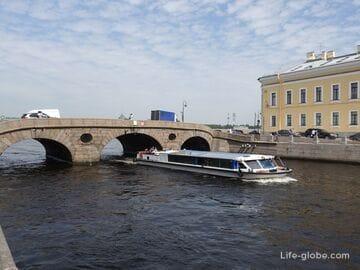 Прачечный мост в Санкт-Петербурге - один из первых каменных мостов города