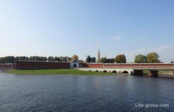 Иоанновский равелин Петропавловской крепости в Санкт-Петербурге