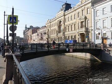 Итальянский мост в Санкт-Петербурге